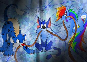 The blue ones by JB-Pawstep