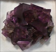 Fluorite Crystals by Undistilled