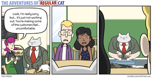 The Adventures of Regular Cat - Fired by tomfonder