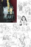 [Elsanna] AHFH doodles by MUTE-sk3tch3s