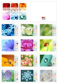 Shades of Nature - Calendar by donia
