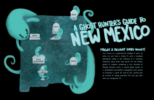A Ghost Hunter's Guide to New Mexico! by Jacked-Sherbert