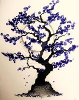 yet another blossom tree by Gothic-Moonlight