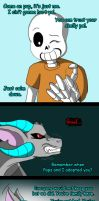 Sans's new pet (page 27) by joselyn565