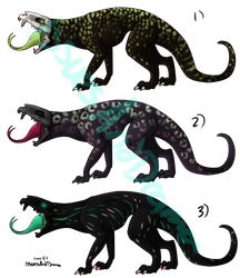 Hellhound Adopts 2 OPEN by IssuesandDramaAdopts