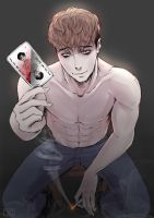 Oh Sangwoo - Killing Stalking by fyriee