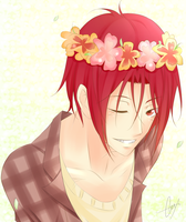 Flowers ~ Rin Matsouka.- by xBulletproofCatx