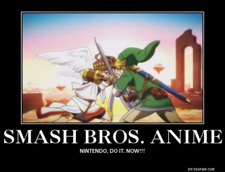Super Smash Bros. The Anime by SuperSonicBros2012