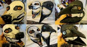 simple fox and crow blank orders by Crystumes