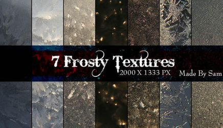 Frosty Textures by ICouldntThinkOfAName