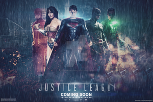Justice League (Fan-Made) Wallpaper by DiamondDesignHD