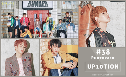 #38 Photopack- UP10TION [Runner] 19P by Siguo