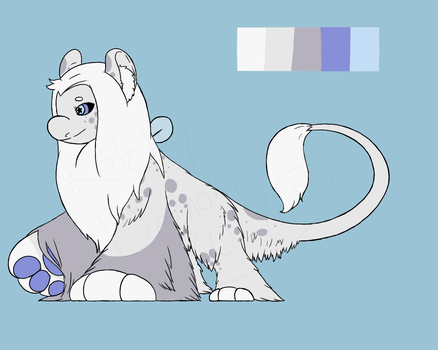 Wyngro - Soft Soft Soft Lion by SketchyDemon
