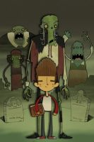 Paranorman: A MisterHope / Mike Collaboration by tyrannus