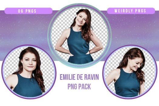Emilie De Ravin PNG Pack by Weirdly-PNGS