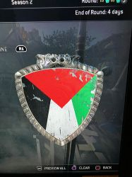 For Honor emblem: Palestine flag by BlueLover17