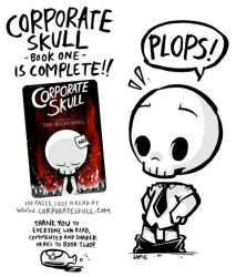 Corporate Skull Book One by icanseeyourmonkey