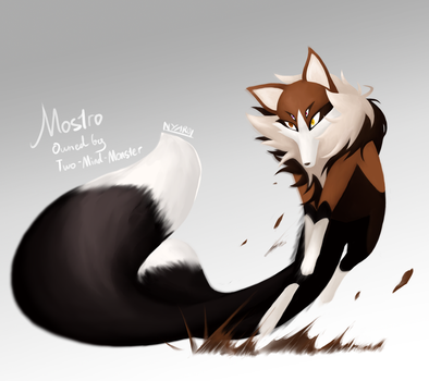 Mostro - Request by Two-Mind-Monster by NyaroKim