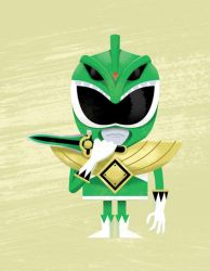 Green Ranger by TheBeastIsBack