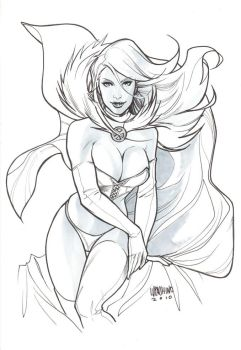 Commission - Emma Frost by manulupac