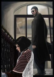 Leon and Mathilda by blackdaisies-DA