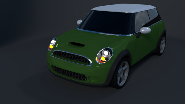 Mini Cooper S by kbmxpxfan