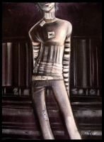 Barcode Boy by f0xyme