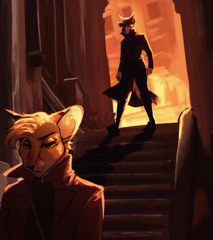Alley by captyns