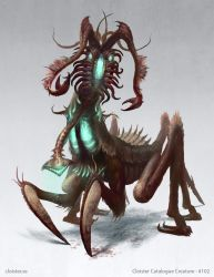 Mutarong - Creature concept by Cloister