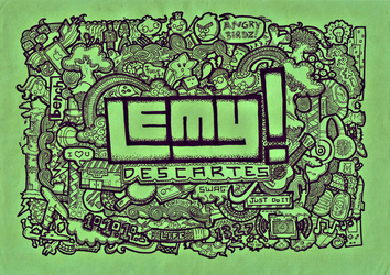 Lemy Descartes - Doodle by PaoloVee