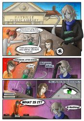 XMEOC - Art Trade Comic! Page 1 by Cold-Creature