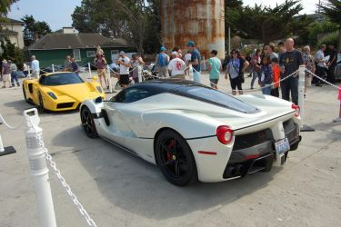 LaFerrari Aperta and Enzo at Cannery Row by Partywave