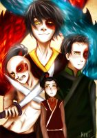 Zuko's evolution by Muni-gallery