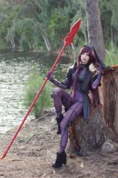 Scathach - Forest II by MeganCoffey