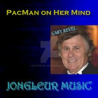 PacMan on Her Mind CD Cover by garyrevel