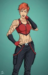 Grace Choi (Earth-27) commission by phil-cho