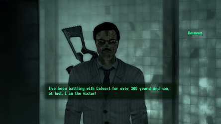 Fallout 3 Desmond is going after his next rival by SPARTAN22294