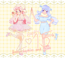 Collab: Year of the sheep! by Lollypopp