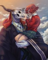 The Ancient Magus Bride by amumaju