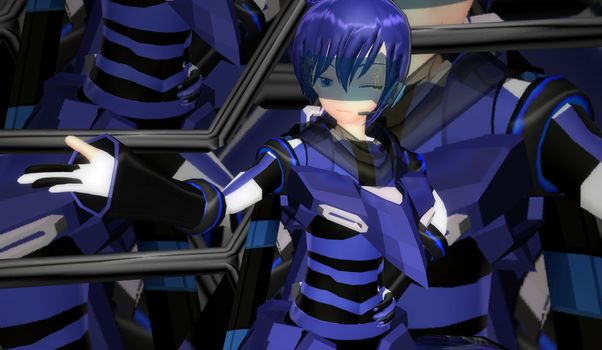 Cyber Kaito DL by TotodileDash