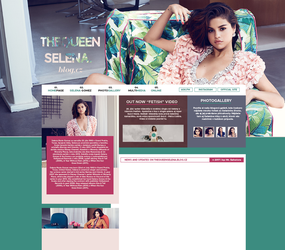 THEQUEENSELENA.BLOG.CZ | layout for my site by flamekeepers