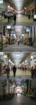Shoping Galleries in Himeji by Lissou-photography