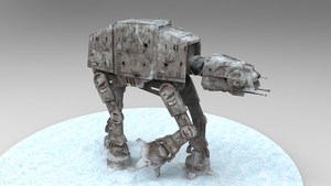 Star Wars: All Terrain Armored Transport AT-AT by The-Great-Pipmax