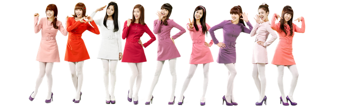 SNSD Hahaha render 2 by dyloveskpop