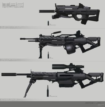 Weapons Concept by Sergey-Lesiuk