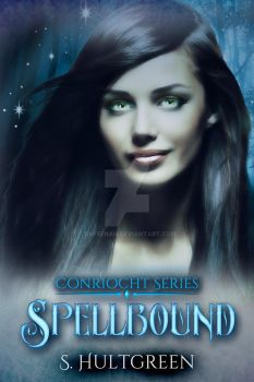 Paranormal Premade Ebook Cover: Spellbound by Dafeenah