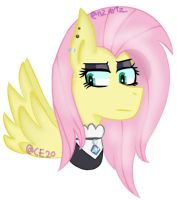 Fluttergoth by CupcakeEdits20