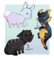 [CLOSED] Axolgooey Adopts! by Urmille