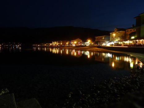 Baska by night by BK-81