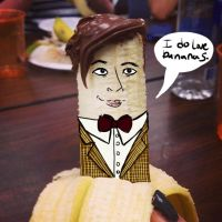 Banana 11th Doctor by MsSleepyCat
